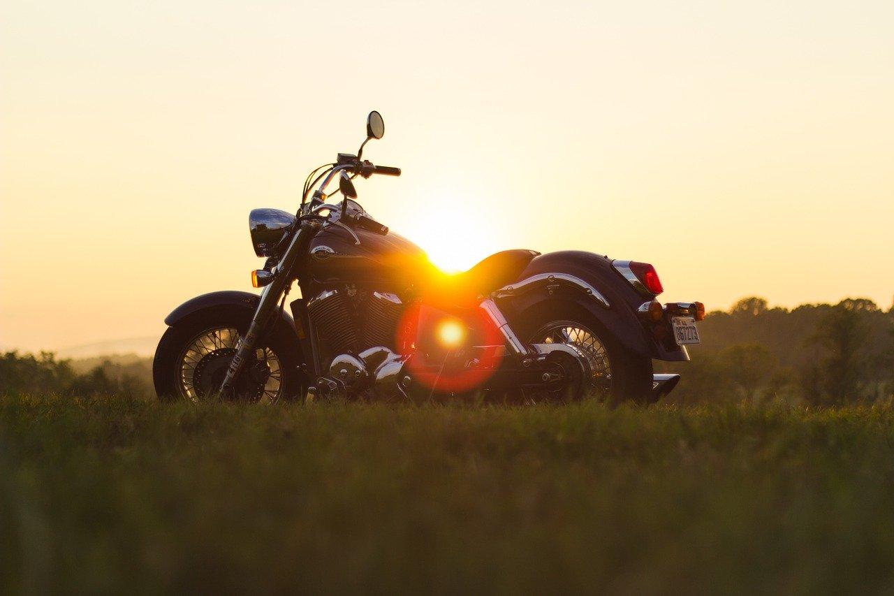 moto soleil été