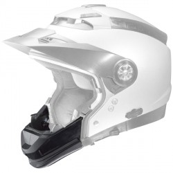 mentonnière casque moto