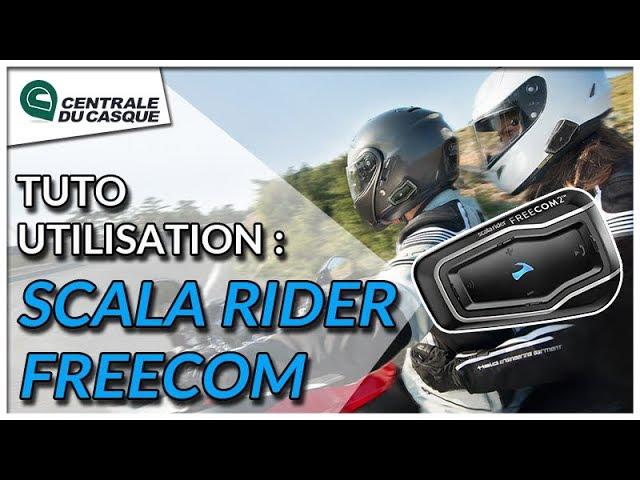 miniature comment utiliser cardo scala rider freecom